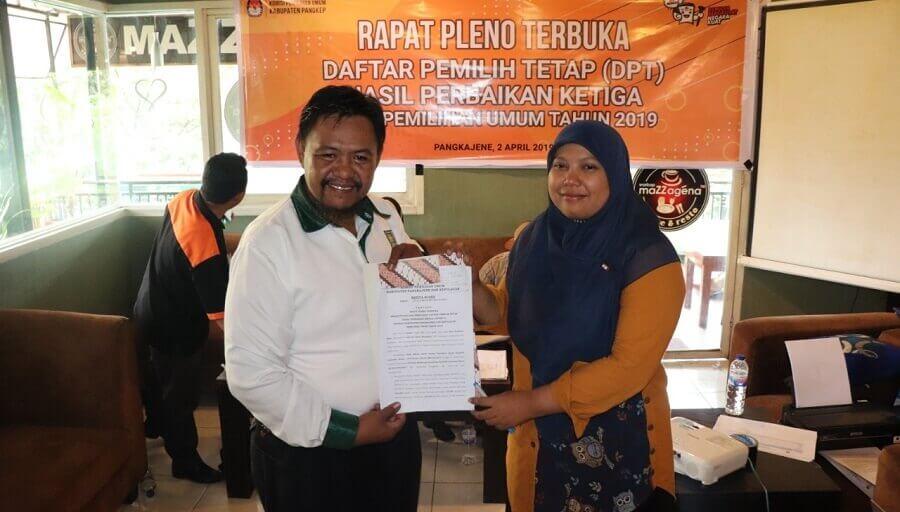 KPU Kabupaten Pangkep