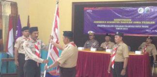 Kontingen Pramuka Kota Tegal Ikuti Jamda Ke XV tingkat Jateng