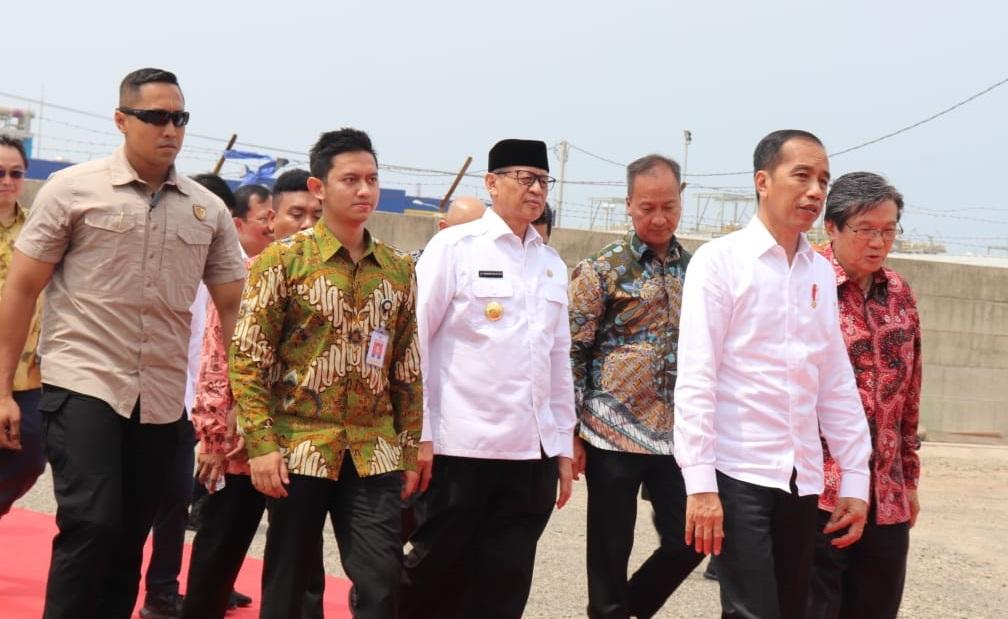 Jokowi ke Banten