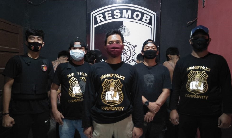 Tim Unit Resmob Polres Pangkep